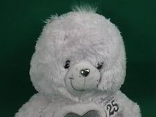 NEW WHITE SILVER 25 TENDERHEART CRYSTAL CARE BEAR SWAROVSKI EYES PLUSH