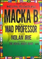 "MACKA B ORIGINAL TOUR POSTER ""GLOBAL MESSENGER"