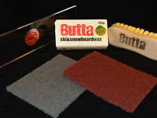 Butta Wax Kit - Free Structure Pads & Base Prep Guide for Snowboard & Ski