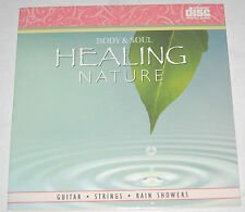 Healing Nature Guitar Violin Rain Showers Instrumental Songs NEW CD Spa Music