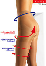 "MONA PUSH-UP ""ELIANTO"" TIGHTS 20 DENIER - Slimming waist,Pressing of belly"