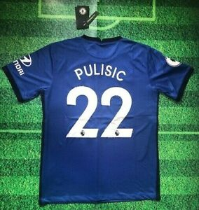 Christian Pulisic #22 Chelsea 20/21 Home Jersey (1 Day Shipping)