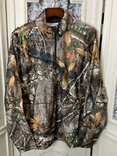 New Under Armour Men's Size Large Camo Off Grip 1/4 Zip Pullover