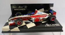 Voitures Formule 1 miniatures bleus 1:43 sur jacques villeneuve