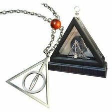 Harry Potter Xenophilius Lovegood Deathly Hallows Necklace From Noble NN7007