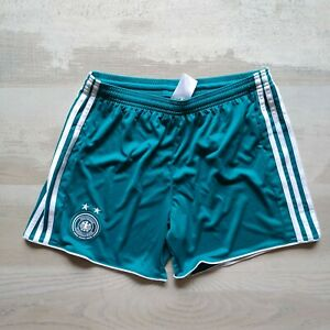 Germany Team Away Football Shorts Adidas B49230 Young Size M