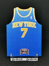 2012-13 Panini Threads Die Cut Jersey Team Threads #8 CARMELO ANTHONY Knicks NYK