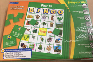 LAKESHORE PLANTS BINGO PLANT LIFE CYCLE STAGES NEW Sealed