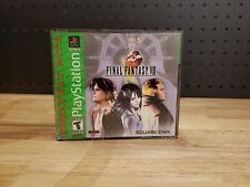 New listing Final Fantasy Viii Cib Playstation 1 Ps1 Ffviii Ff8 (SquareSoft, 1999) Complete