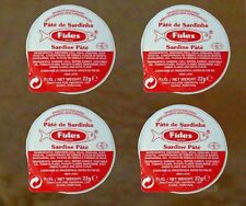 4X Sardine Pate Appetizer Portuguese Paste Portugal Algarve 22g each