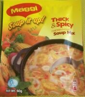Jamaican Maggi Soup It Up! THICK & SPICY Chicken Noodle Soup Mix 36 Packs X 60g