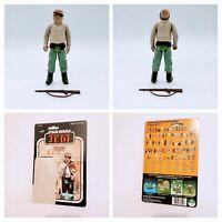 Vintage Star Wars 1983 Prune Face Rifle and 77 Card Back Cardback Lot ROTJ Jedi