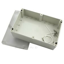 230x150x85mm Waterproof Clear Plastic Electronic Project Box Enclosure CASE
