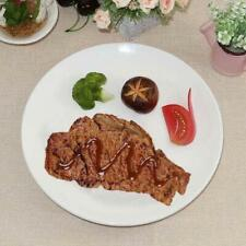 Artificial Faux Fake Food Replica Meat Realistic Grilled Steak Stage Props Decor
