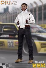 BBK Toys BBK004 1/6 Scale DRIVE Ryan Gosling Racing suit Death Drive Figure TOYS