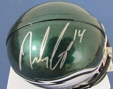 Riley Cooper Philadelphia Eagles Signed Mini Helmet Jsa J91133