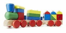 NEW Melissa and Doug Wooden Stacking Train, preschool toddler 2+