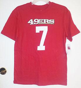 NFL Team Apparel Boys San Francisco 49'ers #7  T-Shirt Size Large 14-16 NWT