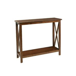 Console Table, Clayton X Side Cherry Finish, Better Homes & Gardens