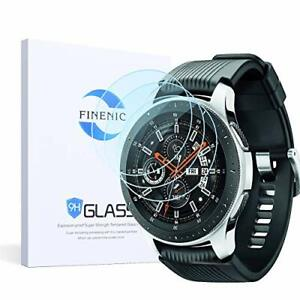 Samsung Gear S3 Frontier/Classic 3 Pack Screen Protector HD Clear Tempered Glass