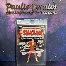 Shazam #5 9.4 CGC 1973 DC comics Beck cover Classic Black Red in High Grade rare