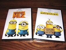 Lot of 2 Minions & Despicable Me 2, DVD] Brand New; Sealed, I Ship Faster