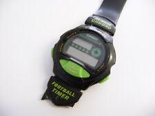 Vintage Casio 1002 TM-11 Bracelet Montre; LCD affichage numérique; Football MINU...