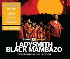 Ladysmith Black Mambazo Cd +DVD Set Live At Montreux Amazing Grace King of Kings