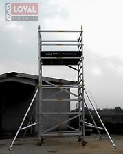 Ex-Demo Trade King 1350, 5.2m W/Height Aluminium Scaffold Tower