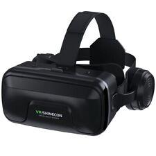 VR Shinecon 10.0 Helmet 3D Glasses Virtual Reality Casque For Smartphones
