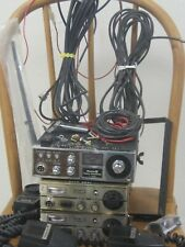 (2) Teaberry Cb Radio Racer T (1) Royce Model I-655 accessories, coax, 3 Mics
