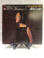 It Must Be Him LP Vickie Carr Liberty Records pop jazz vocal Vinyl Album 33 Rpm