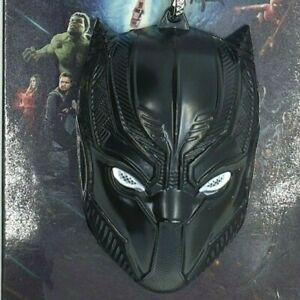 BLACK PANTHER MASK - Keyring Made of Metal High quality LARGE KEYCHAIN 6*4*2cm