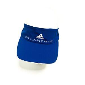 Adidas Stella MacCartney Headgear Cotton Visor CE8362 Blue Adjustable One Size