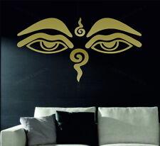 Eye of Buddha Wisdom Eyes Decorative Vinyl Wall Sticker Decal