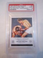 1997 MUHAMMAD ALI SPORTING PROFILES #2 BOXING CARD PSA GRADED 9 MINT