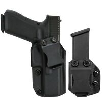 IWB Kydex Holster & Mag Pouch Combo fits Glock 17, 22, 31 - Concealed Carry