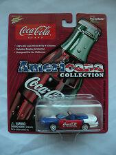 Johnny Lighting Coca Cola 2003 Americana collection 2000 Chevy Camaro convertibl