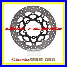 2 Dischi freno anteriori BREMBO ORO SUZUKI GSX-R 1000 07>08 GSXR K7 K8 2007 2008