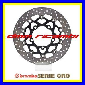 2 Dischi freno anteriori BREMBO ORO SUZUKI GSX-R 600 750 06>07 GSXR 2006 2007