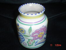 Poole Pottery Small Vase AP Pattern Truda Carter Painted By Gladys Hallett