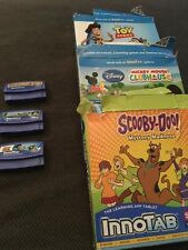 VTech Innotab Games Bundle Mickey Mouse Clubhouse Toy Story Scooby Doo inc Boxes