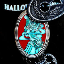 Disney Pins Halloween 2016 Haunted Mansion Ghost LE Trading Pin+2017 Parks Map