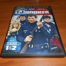 T.J. Hooker - The Complete First & Second Seasons (DVD, 2014 5-Disc) Used 1 2 TJ