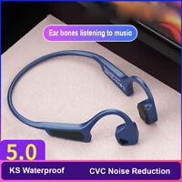Bone Conduction Earphone Wireless Bluetooth 5.0 Headset Headphone Waterproof G18