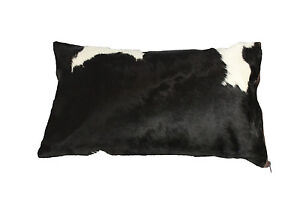 Rodeo black and white  Pillow Cover Double Sided 12x20in