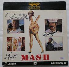Sutherland/Gould/Kellerman Signed Mash Autographed Laser Disc PSA/DNA #AF03178