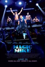 Magic Mike Poster Length :500 mm Height: 800 mm  SKU: 2836
