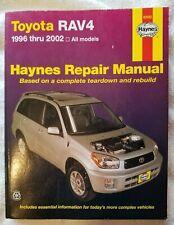 Toyota RAV4 1996-2002 Haynes Repair Manual (92082) (2002)