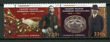 Armenia 2019 MNH Calouste Gulbenkian JIS Portugal 2v Set Famous People Stamps